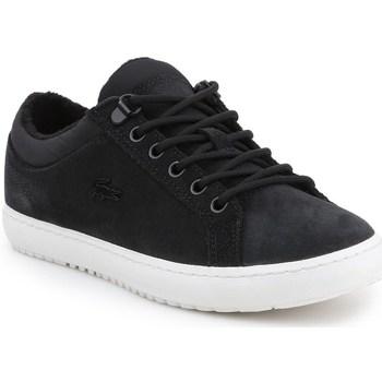 kengät Naiset Matalavartiset tennarit Lacoste Straightset Insulate Mustat