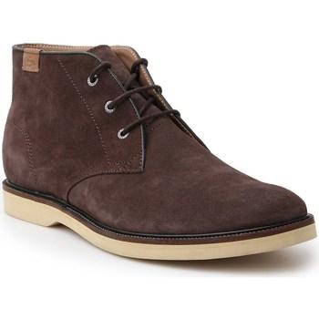 kengät Miehet Bootsit Lacoste Sherbrooke HI Ruskeat