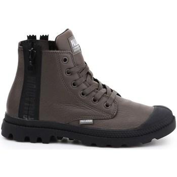kengät Naiset Korkeavartiset tennarit Palladium Manufacture Pampa Ubn Zips Ruskeat