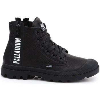 kengät Naiset Korkeavartiset tennarit Palladium Manufacture Pampa Ubn Zips Mustat