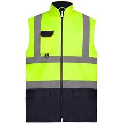 vaatteet Takit Yoko YK215 Yellow/Navy