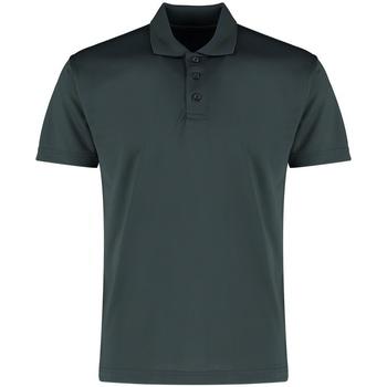 vaatteet Miehet Lyhythihainen poolopaita Kustom Kit KK455 Graphite Grey