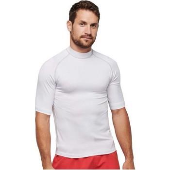 vaatteet Lyhythihainen t-paita Proact PA4007 White