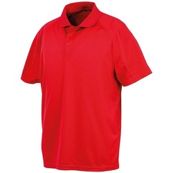 vaatteet Lyhythihainen poolopaita Spiro SR288 Red