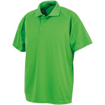 vaatteet Lyhythihainen poolopaita Spiro SR288 Lime Punch
