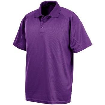 vaatteet Lyhythihainen poolopaita Spiro SR288 Purple