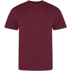 vaatteet Miehet Lyhythihainen t-paita Awdis JT100 Burgundy