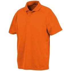 vaatteet Lyhythihainen poolopaita Spiro SR288 Flo Orange