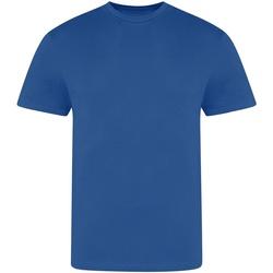 vaatteet Miehet Lyhythihainen t-paita Awdis JT100 Royal Blue