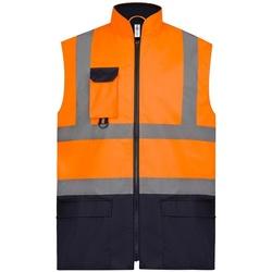 vaatteet Takit Yoko YK215 Orange/Navy