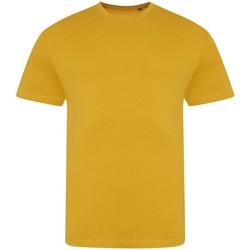 vaatteet Miehet Lyhythihainen t-paita Awdis JT100 Mustard