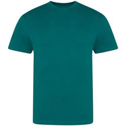 vaatteet Miehet Lyhythihainen t-paita Awdis JT100 Jade