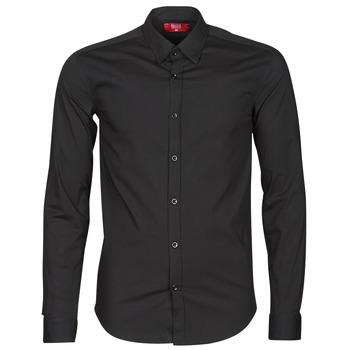 vaatteet Miehet Pitkähihainen paitapusero BOTD OMAN Musta