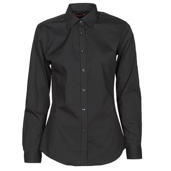 vaatteet Naiset Paitapusero / Kauluspaita BOTD OWOMAN Musta