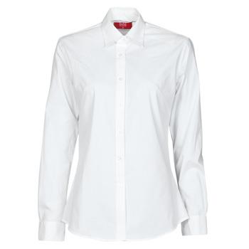 vaatteet Naiset Paitapusero / Kauluspaita BOTD OWOMAN Valkoinen