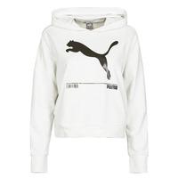 vaatteet Naiset Svetari Puma NUTILITY HOODY White