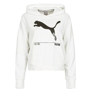 vaatteet Naiset Svetari Puma NUTILITY HOODY Valkoinen