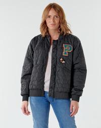 vaatteet Naiset Pusakka Puma BLACK STATION Musta / Monivärinen