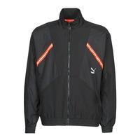 vaatteet Miehet Ulkoilutakki Puma WVN JACKET Musta / Punainen