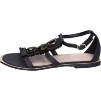 kengät Naiset Sandaalit ja avokkaat Jeannot Sandaalit BK788 Musta