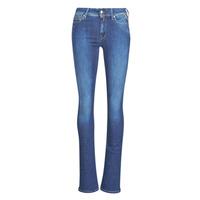vaatteet Naiset Bootcut-farkut Replay LUZ Super / Sininen