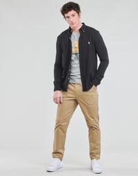 vaatteet Miehet 5-taskuiset housut Polo Ralph Lauren PANTALON CHINO PREPSTER AJUSTABLE ELASTIQUE AVEC CORDON INTERIEU Beige
