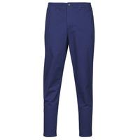 vaatteet Miehet 5-taskuiset housut Polo Ralph Lauren PANTALON CHINO PREPSTER AJUSTABLE ELASTIQUE AVEC CORDON INTERIEU Sininen