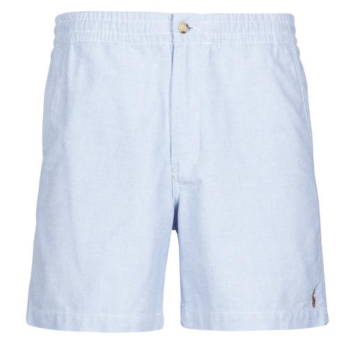vaatteet Miehet Shortsit / Bermuda-shortsit Polo Ralph Lauren SHORT PREPSTER AJUSTABLE ELASTIQUE AVEC CORDON INTERIEUR LOGO PO Sininen