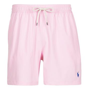 vaatteet Miehet Uima-asut / Uimashortsit Polo Ralph Lauren MAILLOT SHORT DE BAIN EN NYLON RECYCLE, CORDON DE SERRAGE ET POC Pink