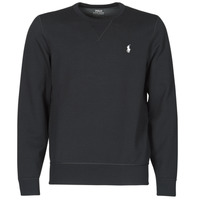 vaatteet Miehet Svetari Polo Ralph Lauren SWEATSHIRT COL ROND EN JOGGING DOUBLE KNIT TECH LOGO PONY PLAYER Musta
