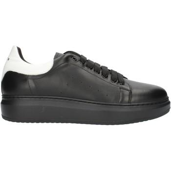 kengät Miehet Matalavartiset tennarit Exton 955PE2020 Black