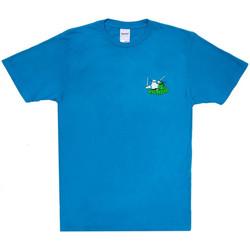 vaatteet Miehet Lyhythihainen t-paita Ripndip Teenage mutant tee Sininen