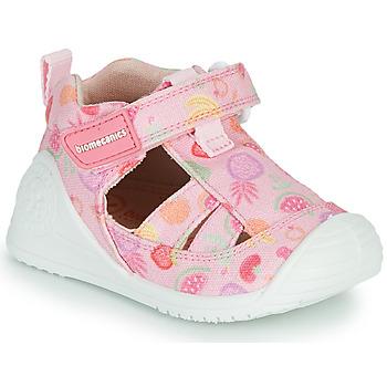 kengät Tytöt Sandaalit ja avokkaat Biomecanics 212212 Vaaleanpunainen