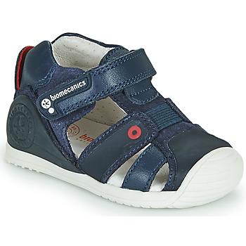 kengät Pojat Sandaalit ja avokkaat Biomecanics 212144 Laivastonsininen