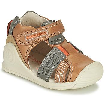 kengät Pojat Sandaalit ja avokkaat Biomecanics 212135 Konjakki