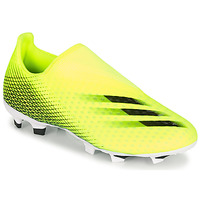 kengät Jalkapallokengät adidas Performance X GHOSTED.3 LL FG Yellow