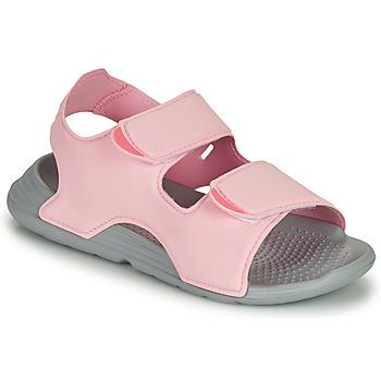 kengät Tytöt Sandaalit ja avokkaat adidas Performance SWIM SANDAL C Vaaleanpunainen
