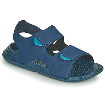 kengät Pojat Sandaalit ja avokkaat adidas Performance SWIM SANDAL C Sininen