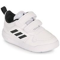 kengät Lapset Matalavartiset tennarit adidas Performance TENSAUR I Valkoinen