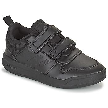 kengät Lapset Matalavartiset tennarit adidas Performance TENSAUR C Musta