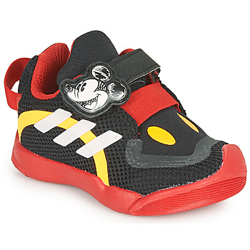 kengät Lapset Matalavartiset tennarit adidas Performance ACTIVEPLAY MICKEY I Musta / Punainen