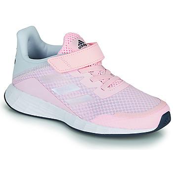 kengät Tytöt Matalavartiset tennarit adidas Performance DURAMO SL C Vaaleanpunainen
