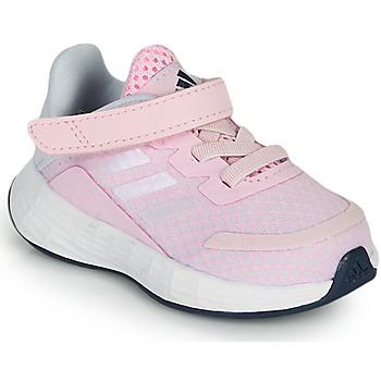 kengät Tytöt Matalavartiset tennarit adidas Performance DURAMO SL I Vaaleanpunainen