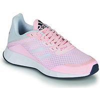 kengät Tytöt Matalavartiset tennarit adidas Performance DURAMO SL K Vaaleanpunainen