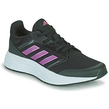 kengät Naiset Juoksukengät / Trail-kengät adidas Performance GALAXY 5 Musta / Vaaleanpunainen