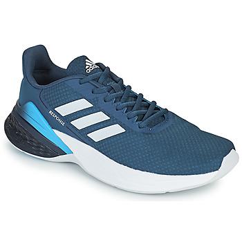kengät Miehet Juoksukengät / Trail-kengät adidas Performance RESPONSE SR Sininen