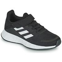 kengät Lapset Matalavartiset tennarit adidas Performance DURAMO SL C Musta / Valkoinen
