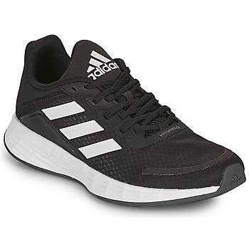 kengät Lapset Matalavartiset tennarit adidas Performance DURAMO SL K Musta / Valkoinen