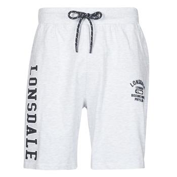 vaatteet Miehet Shortsit / Bermuda-shortsit Lonsdale KNUTTON Harmaa