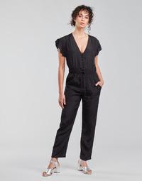 vaatteet Naiset Jumpsuits / Haalarit See U Soon 21191033 Musta